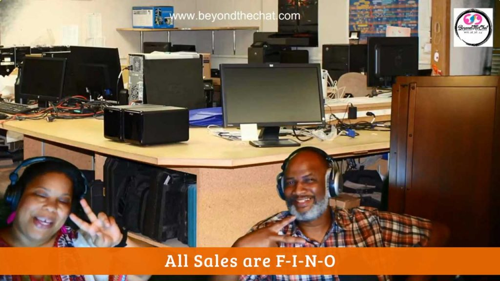 All Sales are F-I-N-O