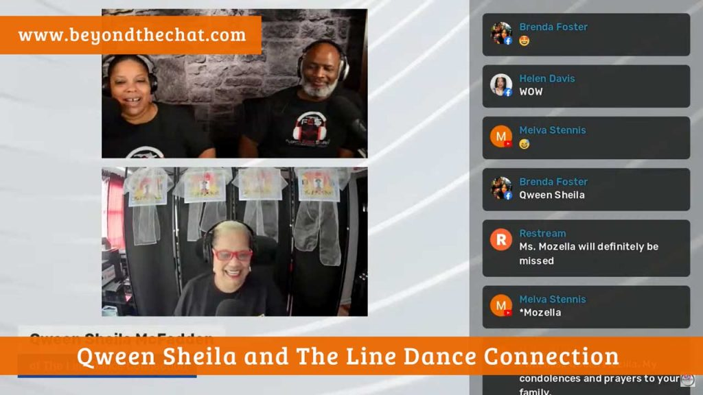Qween Sheila and The Line Dance Connection